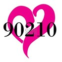 I Love 90210 Decal