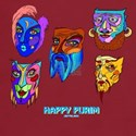 Happy Purim Masks T-Shirt