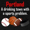 Portland A Drinking Town With A Sports Problem T-S