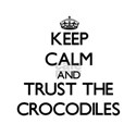 Keep calm and Trust the Crocodiles T-Shirt