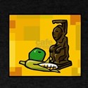 Statue for Kwanzaa with corn and pawpaw.png T-Shir