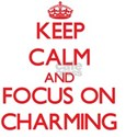 Keep Calm and focus on Charming T-Shirt