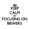 Keep calm by focusing on Biewers T-Shirt