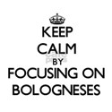 Keep calm by focusing on Bologneses T-Shirt