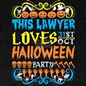 This Lawyer Loves 31st Oct Halloween Party T-Shirt