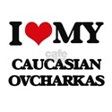 I love my Caucasian Ovcharkas T-Shirt