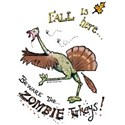 Zombie Turkey T-Shirt