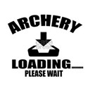 Archery Loading Please Wait White T-Shirt