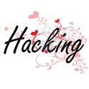 Hacking Artistic Design with Hearts T-Shirt