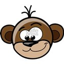 Cute New Year of The Monkey White T-Shirt