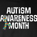 Autism Month Ribbon Long Sleeve T-Shirt