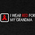 Red Ribbon: Red for my Grandma T-Shirt