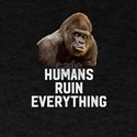 Humans Ruin Everything - Meat Is Murder An T-Shirt