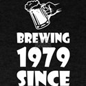 Brewing Since 1979 Beer Fathers Day Gift T-Shirt