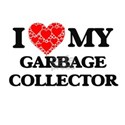 I Love my Garbage Collector T-Shirt