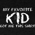 Favorite Kid Got Me This Shirt Fathers Day T-Shirt