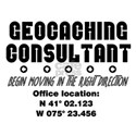 Geocaching Consultant T-Shirt