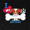 BRITTANY Cute Dog Gift Idea Funny Dogs T-Shirt