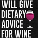 will give dietary advice for wine T-Shirt