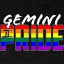 LGBT Gemini Pride Flag Zodiac Sign T-Shirt