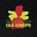 The Crazed Gamer Gaming Games Lover Madnes T-Shirt