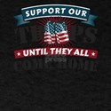 Support Our Troops American Patriotic Vete T-Shirt