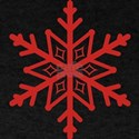 Red Snowflake T-Shirt