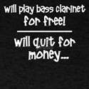 Funny Bass Clarinet T-Shirt