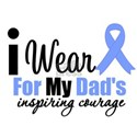 Prostate Cancer DAD White T-Shirt