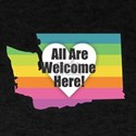 Washington - All Are Welcome Here T-Shirt