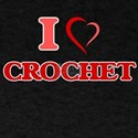 I Love Crochet T-Shirt