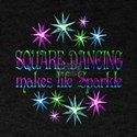 Square Dancing Sparkles T-Shirt