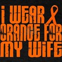 I Wear Orange For My Wife 16 Dark T-Shirt