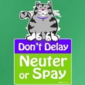 Don't Delay (Cat) - Neuter or Dark T-Shirt