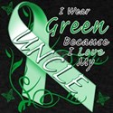 I Wear Green I Love My Uncle T-Shirt