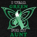 I Wear Green for my Aunt T-Shirt