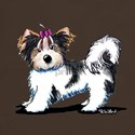 Biewer Yorkie Girl T-Shirt