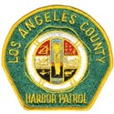 L A County Harbor Patrol White T-Shirt