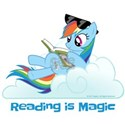 My Little Pony Reading is Magic White T-Shirt