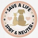 Save A Life Spay & Neuter Long Sleeve T-Shirt
