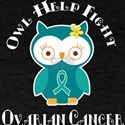 Ovarian Cancer Awareness Owl T-Shirt