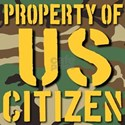 Property of US Citizen T-Shirt