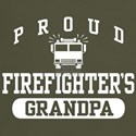 Proud Firefighter's Grandpa t-shirt