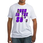 1980's, 80s Fitted T-Shirt