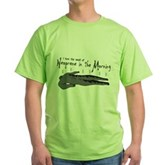 Neoprene in the Morning Green T-Shirt