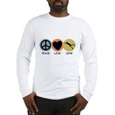Peace Love Dive Long Sleeve T-Shirt