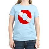 Scuba Flag Letter O Women's Light T-Shirt