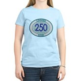 250 Logged Dives Women's Light T-Shirt