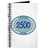 2500 Logged Dives Journal