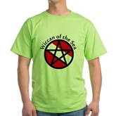 Wiccan of the Sea Green T-Shirt